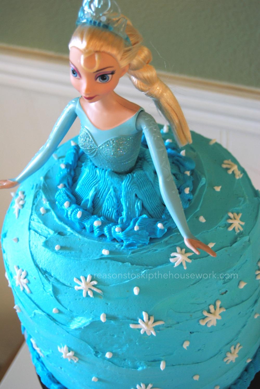 princess doll cake 2