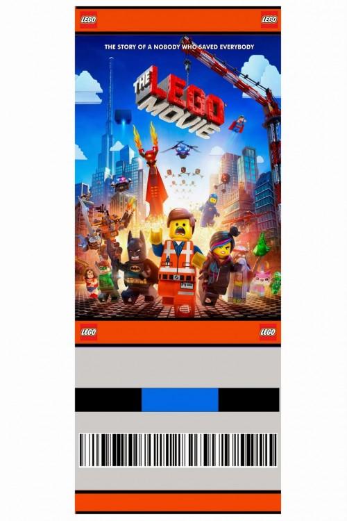 Customizeable free lego party invitation ticket style rookno17