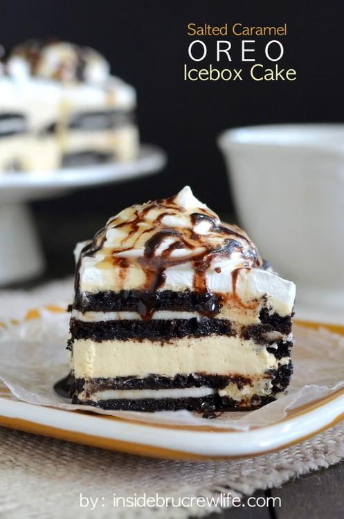 Salted-Caramel-Oreo-Icebox-Cake-title-2