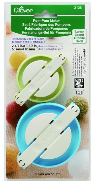 clover pom pom maker