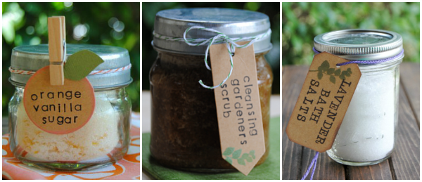 More mason jar gifts from Shaken Together!
