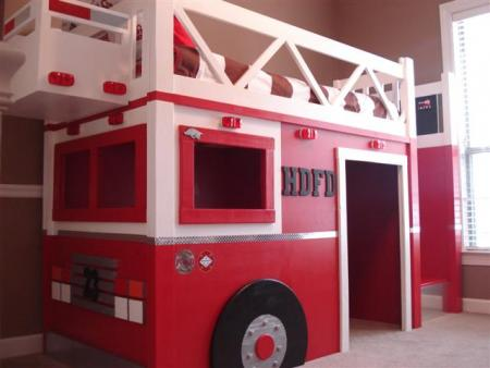 firefighter bunk bed