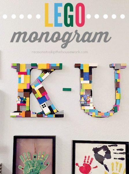 LEGO MONOGRAM SIGN