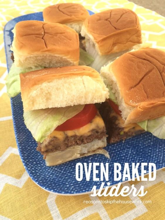 oven baked sliders