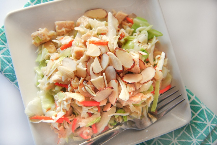 ramen noodle chicken salad2