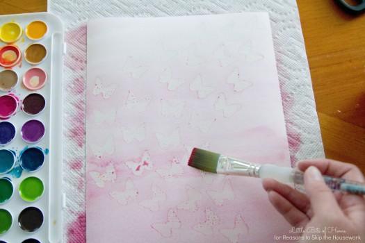 step paint
