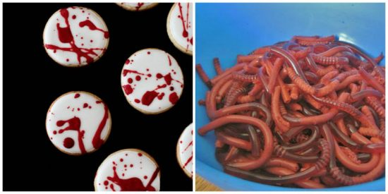 gross halloween food