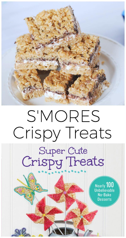 smores crispy treats