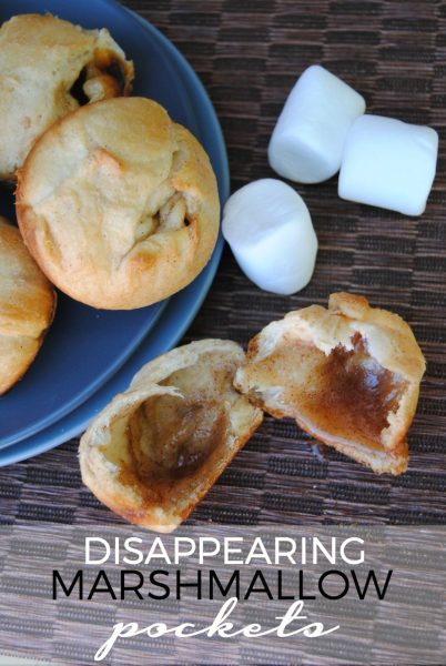 disappearing marshmallow pockets