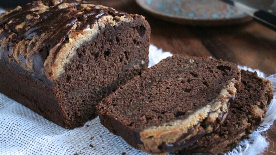 Choco Banana Bread Cut 2000