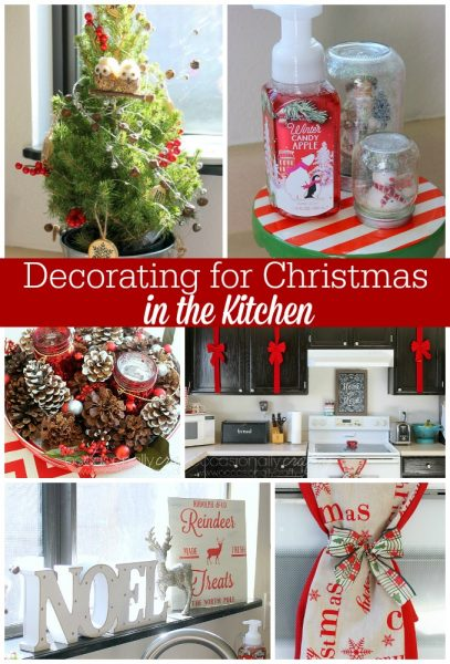 Decorating for Christmas In the Kitchen