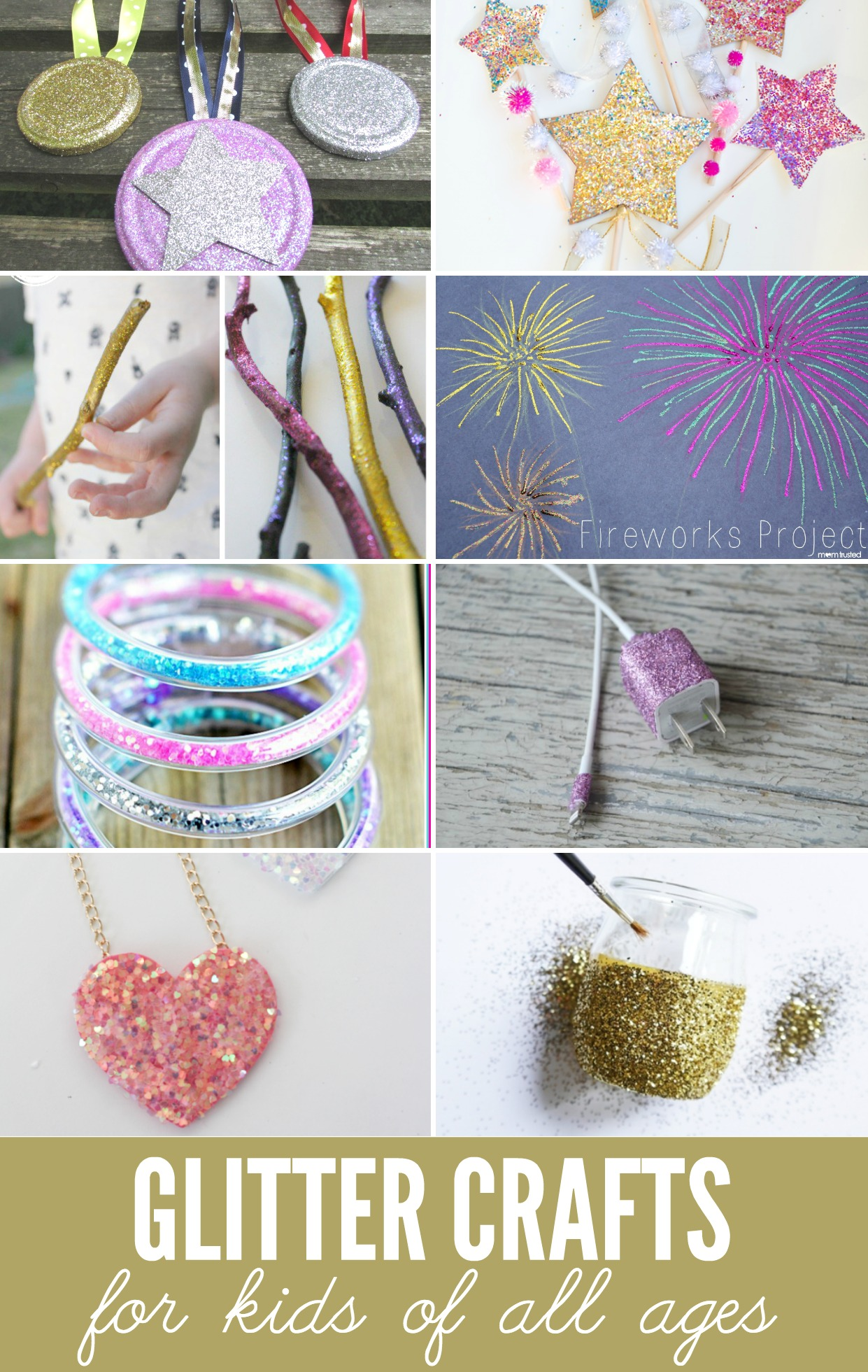 Glitter crafts for kids reasons to skip the housework for Glitter crafts for kids