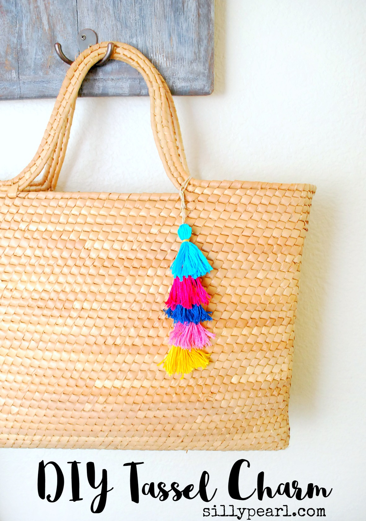 DIY Tassel Charm by The Silly Pearl for Reasons to Skip the Housework