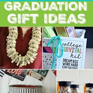 Graduation Gift Ideas that any graduate will love - whether high school or college!