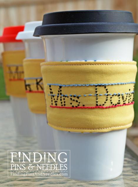 custom drink sleeve
