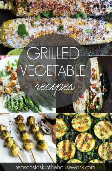 grilled vegetable recipes
