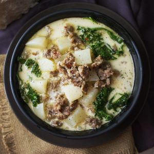Crock Pot Recipes - Zuppa Toscana