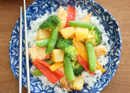 Sweet-Chili-Pineapple-Chicken-Easy-Crock Pot Recipes