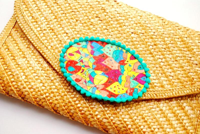 Embellished Clutch Purse -