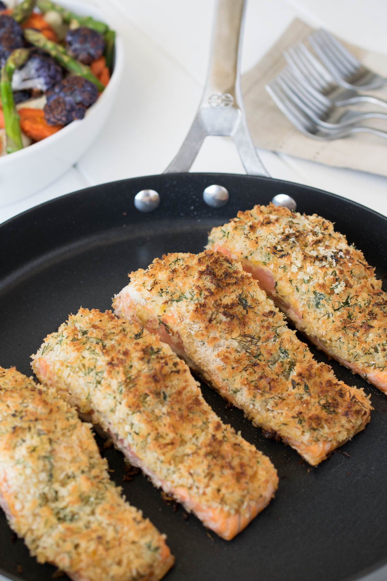 10 salmon recipes reasons to skip the housework for Parmesan crusted fish