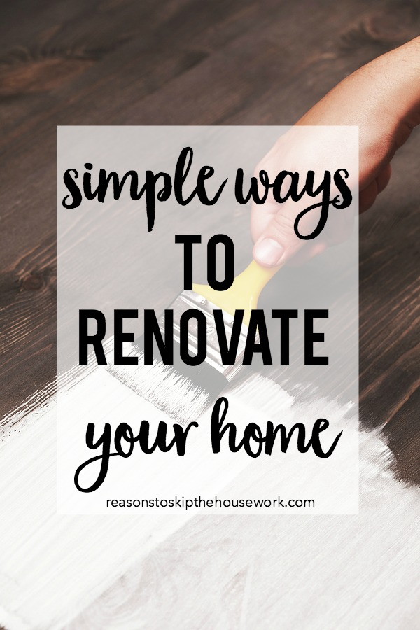renovate your home