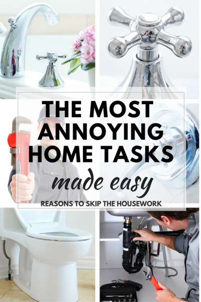 Most Annoying Home Tasks