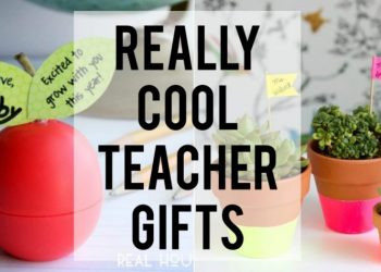 Really cool teacher gifts any teacher would love to receive!