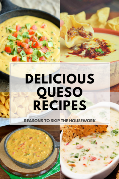 Queso Recipes that are perfect for any party or gathering. Better make a double batch, they will be eaten quickly!