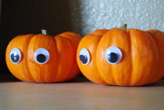 Googly Eye Pumpkins