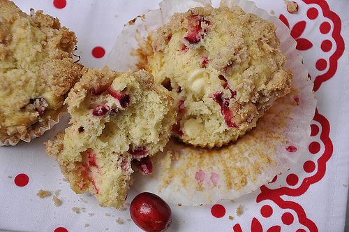Eggnog Chocolate Cranberry Muffins: Eggnog is a favorite seasonal drink, but there are so many ways to bake with eggnog!