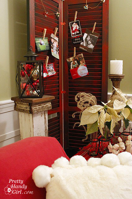shutters card display