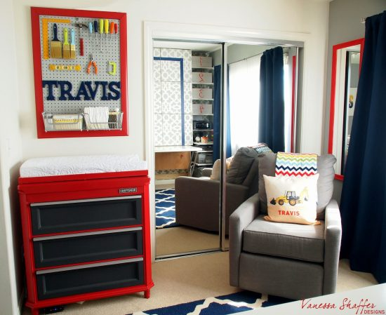 Workspace: Boy Nursery Ideas: From narrowing down the boy nursery ideas to painting the walls, there are a lot of ways you can uniquely design the room for your new baby.