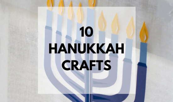 Hanukkah Crafts: Make your own Hanukkah crafts or get the whole family involved with one of these 10 Hanukkah Crafts