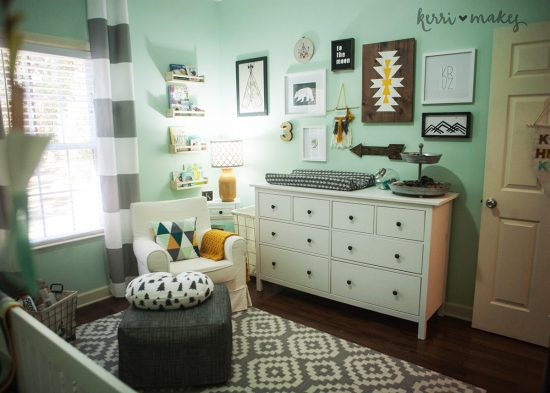 Mint Classic: Boy Nursery Ideas: From narrowing down the boy nursery ideas to painting the walls, there are a lot of ways you can uniquely design the room for your new baby.