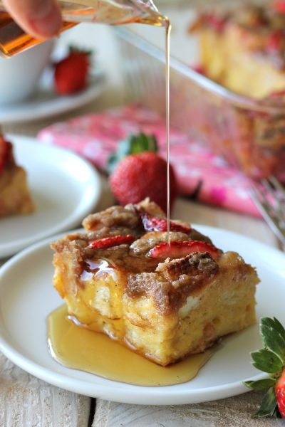 Eggnog French Toast: Eggnog is a favorite seasonal drink, but there are so many ways to bake with eggnog!