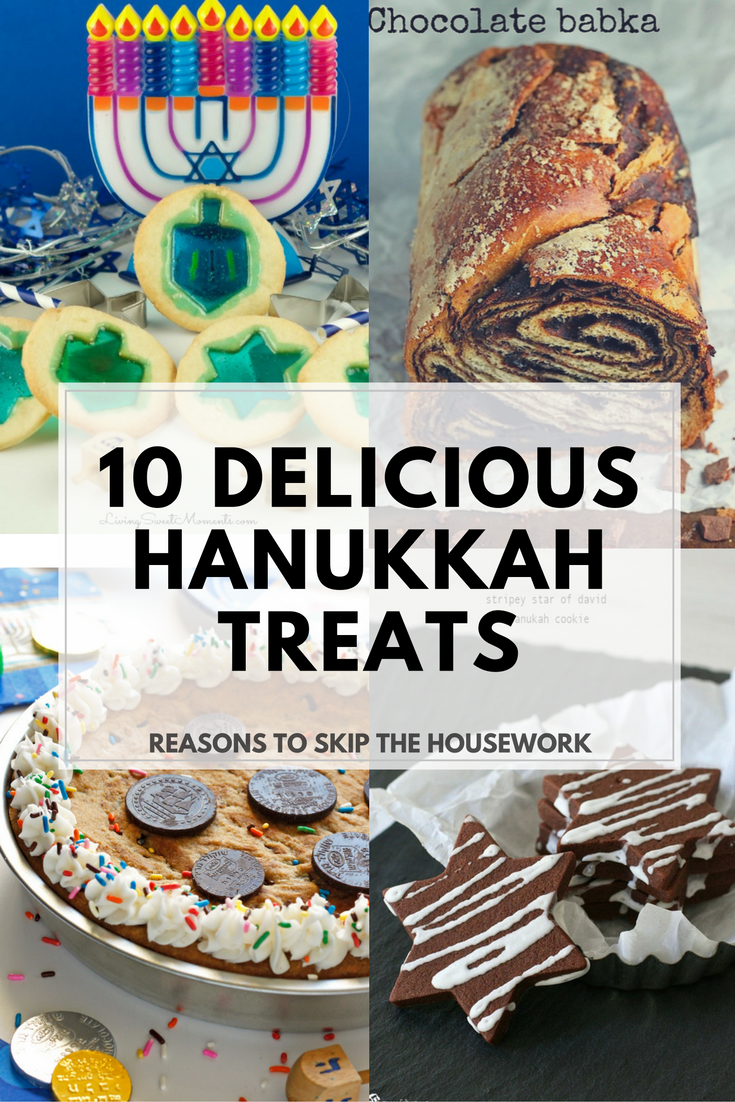 Hanukkah Treats: Whip up one of these traditional treats to celebrate Hanukkah.