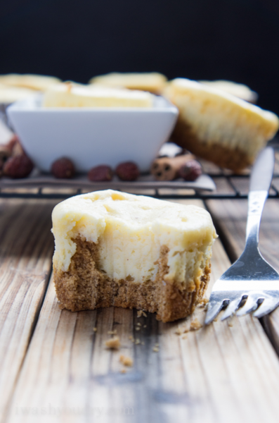 Eggnog Cheesecakes: Eggnog is a favorite seasonal drink, but there are so many ways to bake with eggnog!