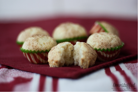 Eggnog Muffins: Eggnog is a favorite seasonal drink, but there are so many ways to bake with eggnog!