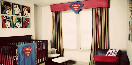 Superhero Boy Nursery: Boy Nursery Ideas: From narrowing down the boy nursery ideas to painting the walls, there are a lot of ways you can uniquely design the room for your new baby.