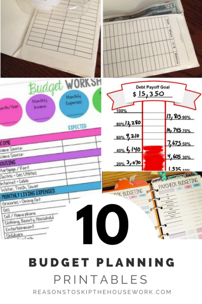 Creating a budget that works can be challenging, but luckily, there are geniuses out there who have created all kinds of budget printables to help!