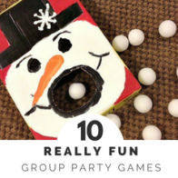 Planning a Birthday Party - Group Party Games