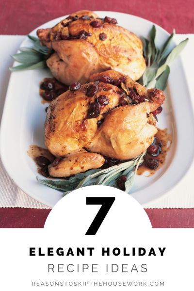 Elegant Holiday Dishes that are perfect if you want to jazz up your holiday meal!