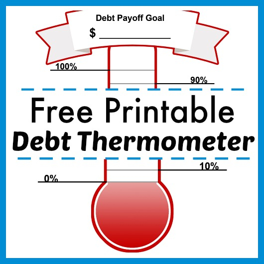 free-printable-debt-thermometer-500px - REASONS TO SKIP THE