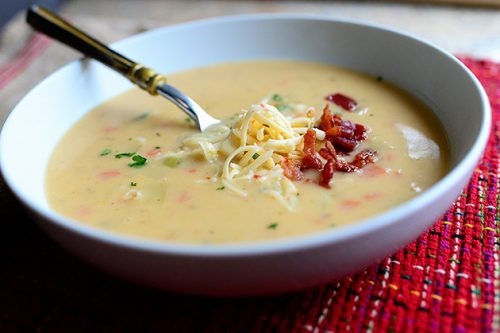 Winter is here and hearty soups are a popular comfort food to eat when it is cold outside.