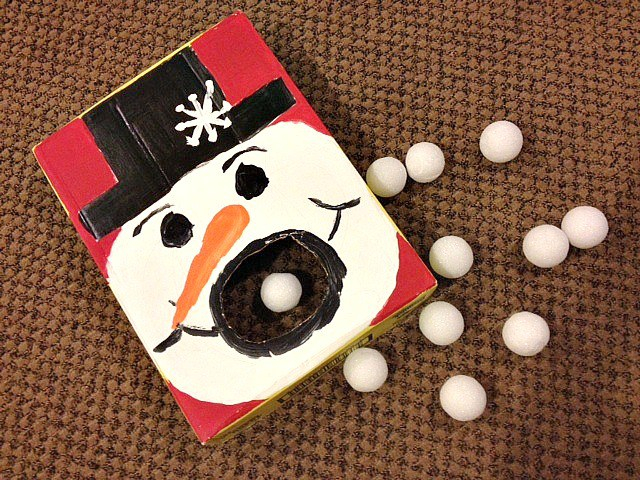 Group Party Games: Hungry Snowman