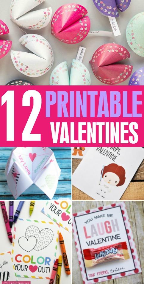 Printable Valentines