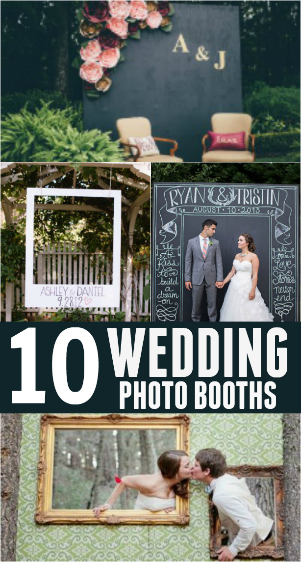 Wedding Photo Booths are such a great keepsake to offer guests and you'll love having the memories!