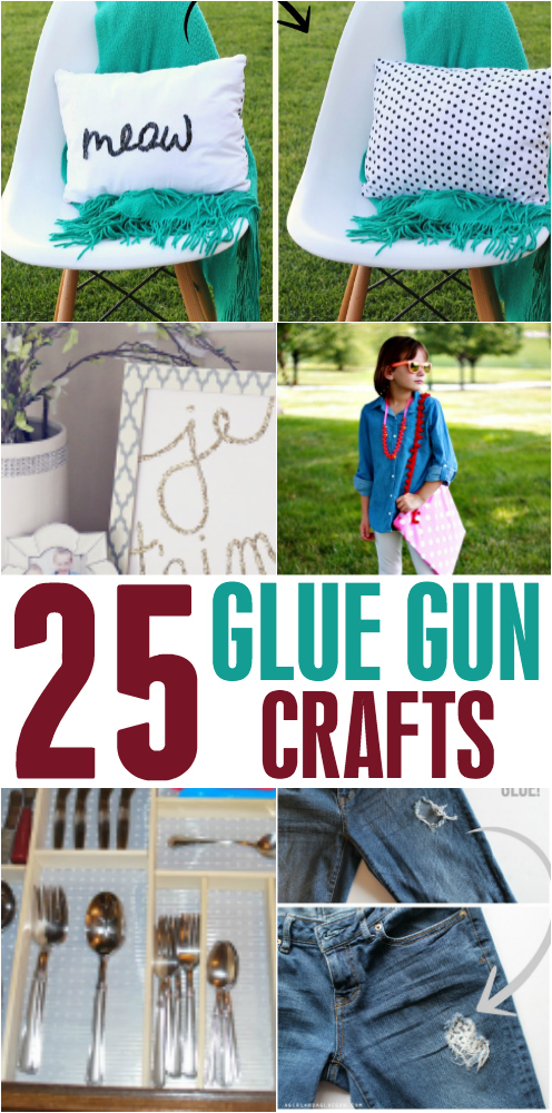 Glue Gun Crafts that are fun and creative!