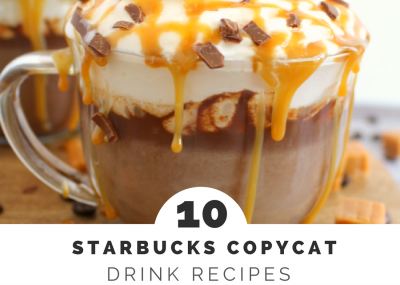 Starbucks Copycat Drink Recipes you'll love. Not only are they delicious, you can enjoy them in your PJs!