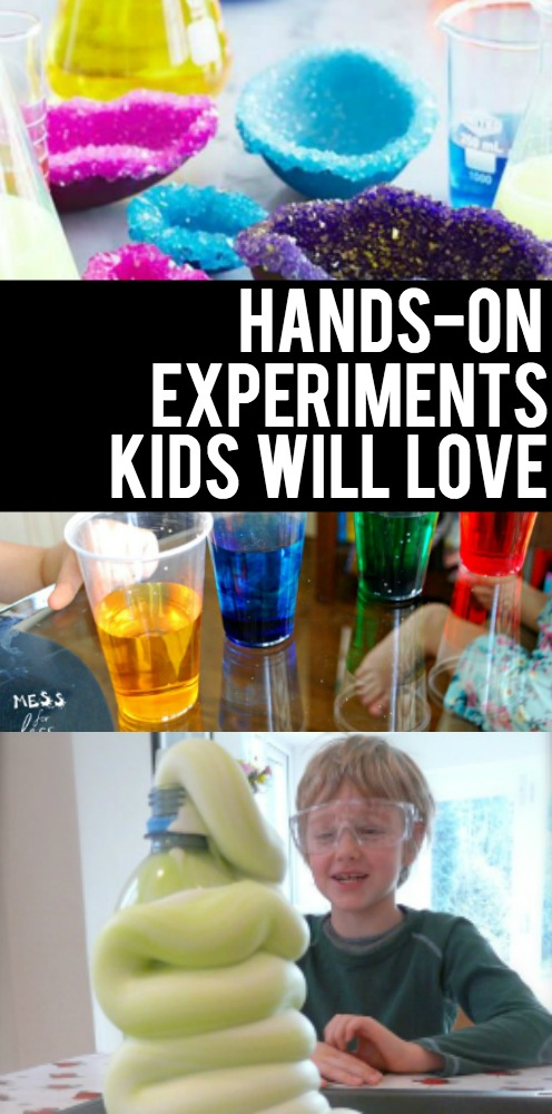 Hands On Experiments For Kids